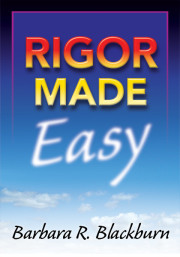 Rigor Made Easy by Barbara R. Blackburn
